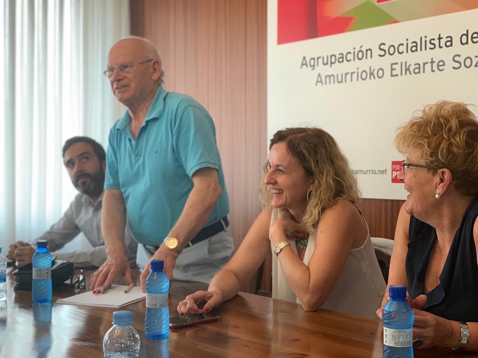 Reunión de trabajo con la Agrupación Socialista de Amurrio