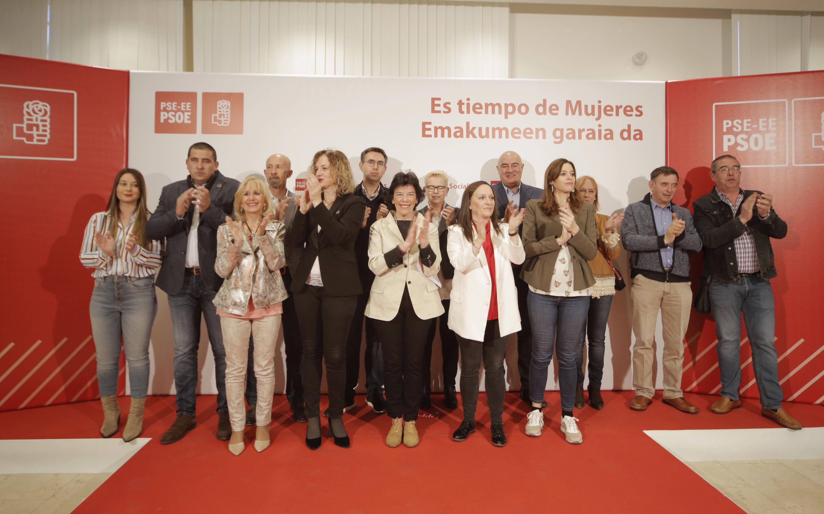 Presentación candidaturas CONGRESO y SENADO