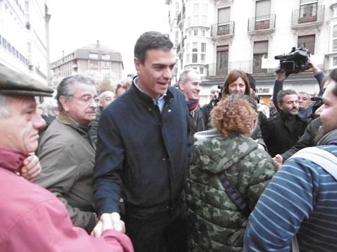 Pedro Sánchez en Vitoria Gasteiz