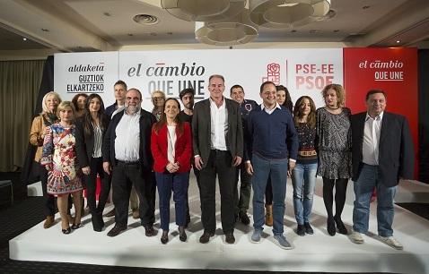 Presentación de Candidatos/as PSE Álava Congreso y Senado