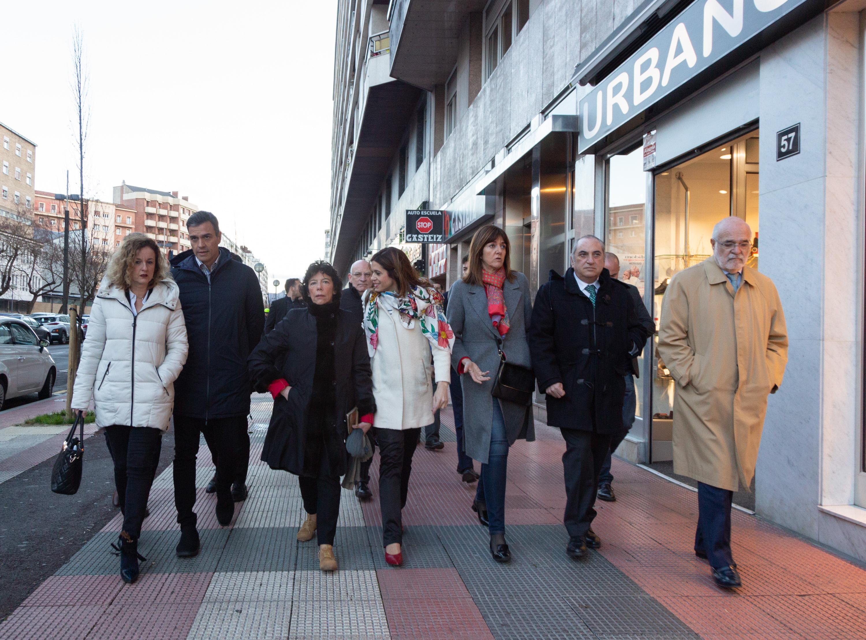 Acto con Pedro Sánchez, Presidente del Gobierno en Vitoria-Gasteiz